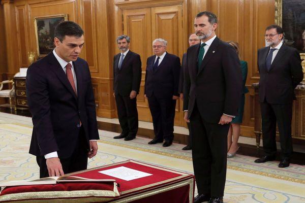 Pedro Sanchez - Premier ministre espagnol - 2018.