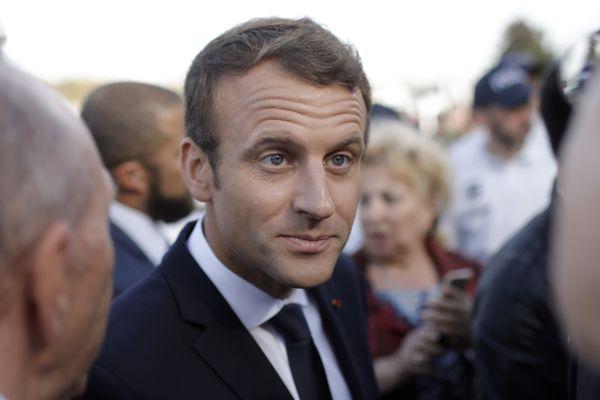 Emmanuel Macron est attendu à 14h30 sur le site de l'Ecole d'Application aux métiers des Travaux Publics (EATP) pour l'inauguration du nouveau campus.