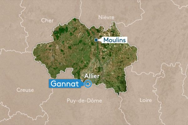 Un accident de la route s'est produit à Gannat, dans l'Allier, mercredi 8 mai.