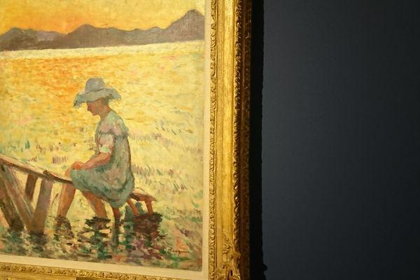 Saint Tropez, le coucher de soleil (1904) - Henri Manguin - collection particulière