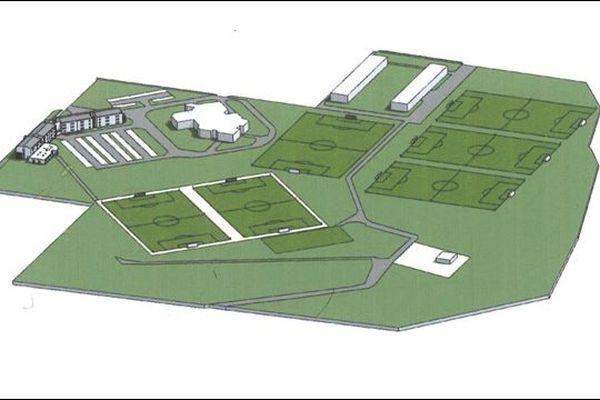 Projet centre entrainement Stade de Reims