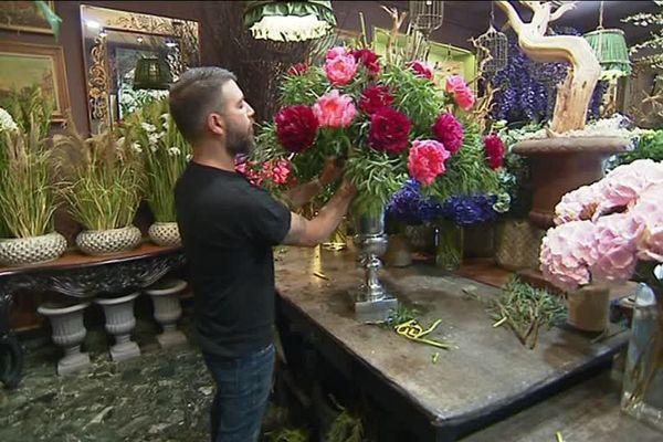 Hervé Frezal, un maestro de la fleur.