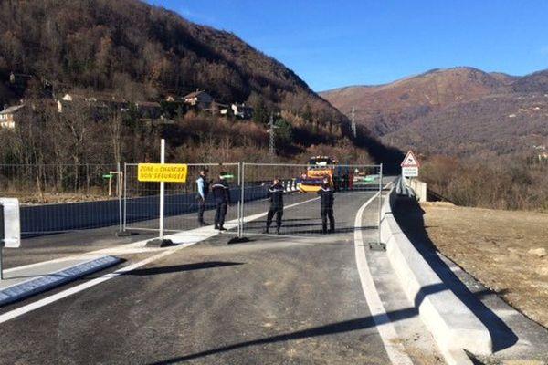 La déviation d'Ax-les-Thermes, en Ariège