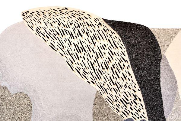 Le tapis d'Alix Waline fabriqué par l'Atelier Pinton