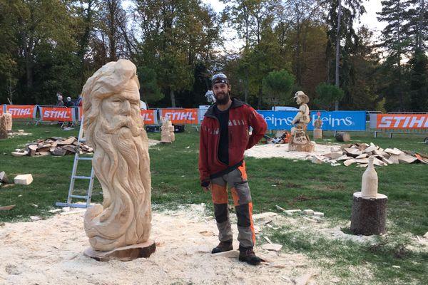 Le gagnant, Francis Ferret, est le benjamin de la compétition. Il a 24 ans et a sculpté le visage d'un vieil homme barbu.