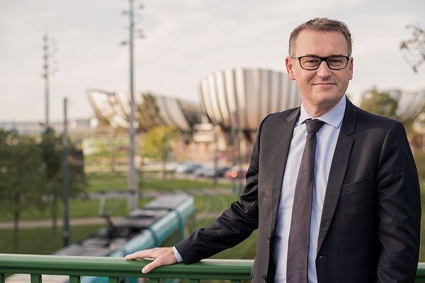 Eric Quénard est conseiller municipal à Reims, ils se présente sous l'étiquette (PS-alliés)