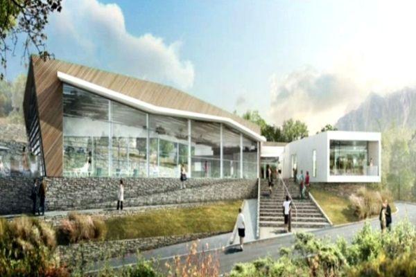 La future station thermale de Berthemont-les-Bains