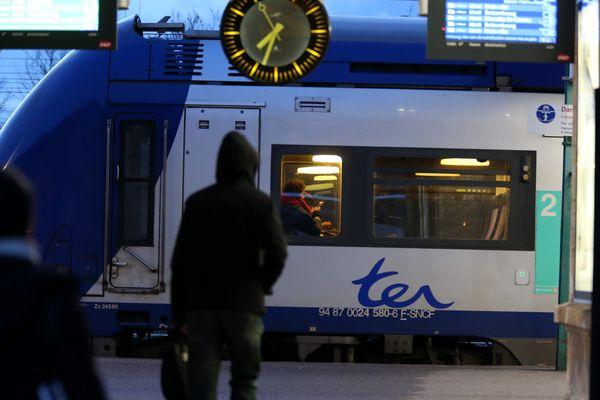 La SNCF prévoit de faire circuler vendredi un TGV et un TER sur trois pendant la grève vendredi.