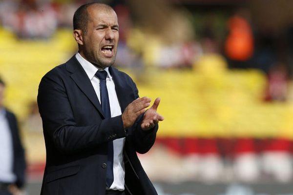 Leonardo Jardim, entraîneur de l'AS Moncao, Le 4 octobre 2015 lors de Monaco-Rennes.