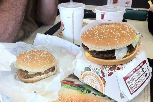 Burger King Reims-Champagne (A4) - le célèbre Whopper