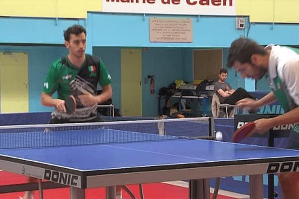 Marcos madrid et Jimmy Devaux à l'entraînement pour les J.O de Rio