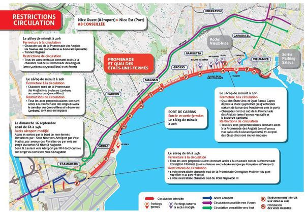 Le coup d'envoi de l'IronMan 70.3 premier du nom sera donné ce dimanche 16 septembre à Nice. On vous dit tout sus les restrictions de circulation.