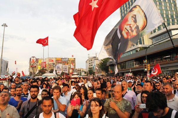Une étudiante venue de Nantes arrêtée place Taksim à Istambul