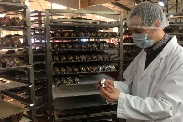 Gauthier Richart est à la tête de la chocolaterie familiale (3ème génération)