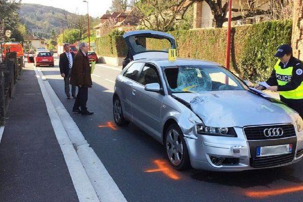 Le chauffard avait percuté le policier, en tentant d'échapper à un contrôle.