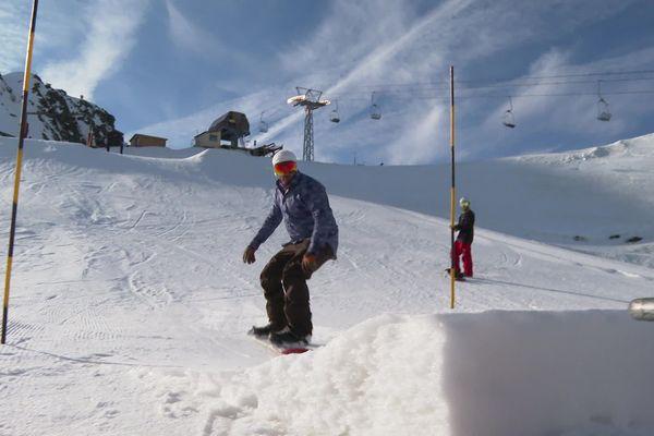 Le snow park d'Artouste a été entièrement revu et étendu