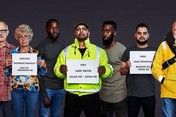 Les huit Anglais qui ont tenté de passer en Angleterre depuis la l'Europe illégalement