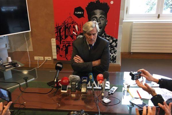 Stéphane Le Foll a annoncé sa candidature à la mairie du Mans pour les Municipales 2020