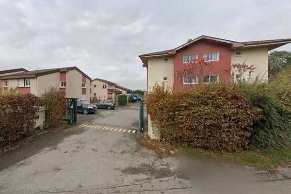 Le foyer de l'APEI de Thonon et du Chablais, chemin de Leyriat à Allinges.