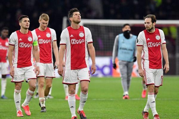 Les joueurs de l'Ajax Amsterdam étaient leaders du championnat néerlandais avant son interruption.