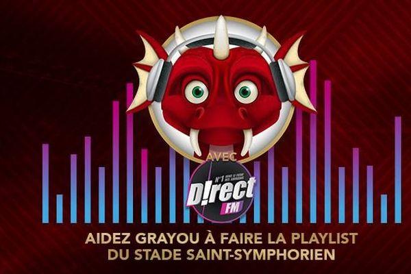 Grayou sollicite les supporters messins pour choisir la nouvelle playlist du Stade Saint-Symphorien.