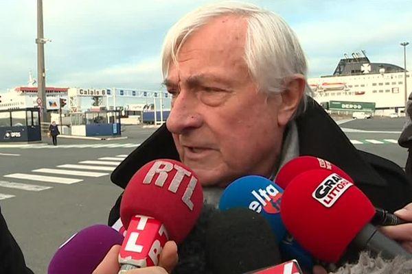 Jean-Marc Puissesseau, ce lundi à Calais