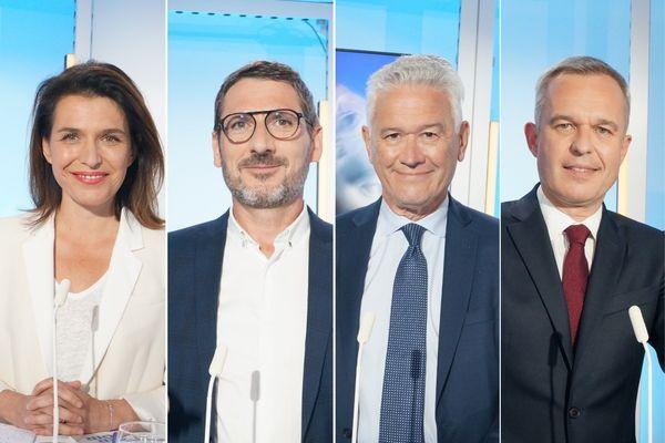 Morançais, Orphelin, Juvin, De Rugy, une quadrangulaire pour le deuxième tour des Régionales 2021 en Pays de la Loire