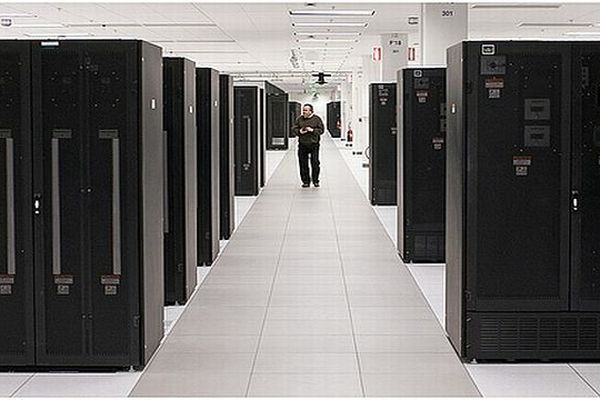"Un des 6 centre ""cloud"" IBM"