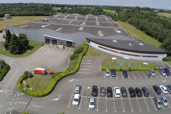 L'usine McBride à Rosporden
