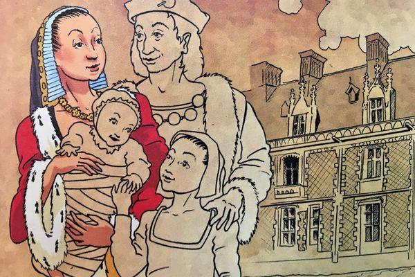 Retour en l'an 1505 pour le tour de Bretagne de la Duchesse Anne