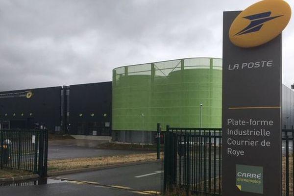 Une contamination toxique, chimique, biologique voire radiocative a été suspectée au centre de tri postal de Roye (Somme) ce 17 août 2019.