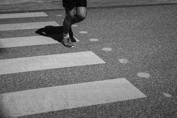 les joggers s'emparent des rues désertes de Rodez