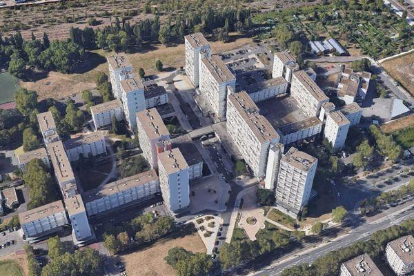 Vue aérienne du quartier des Aubiers à Bordeaux. Photo d'illustration.