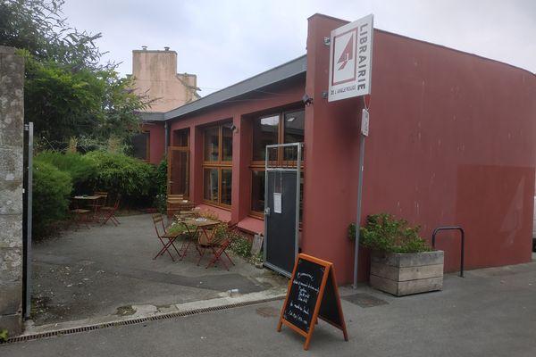 La librairie L'Angle Rouge à Douarnenez
