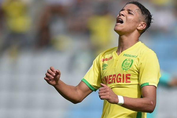 Amine Harit est confiant avant le match qui opposera le FC Nantes à l'OGC Nice le dimanche 30 octobre 2016