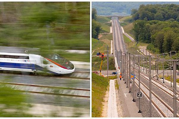 La branche Est de la LGV Rhin-Rhône a pour objectif de relier Dijon à Mulhouse.