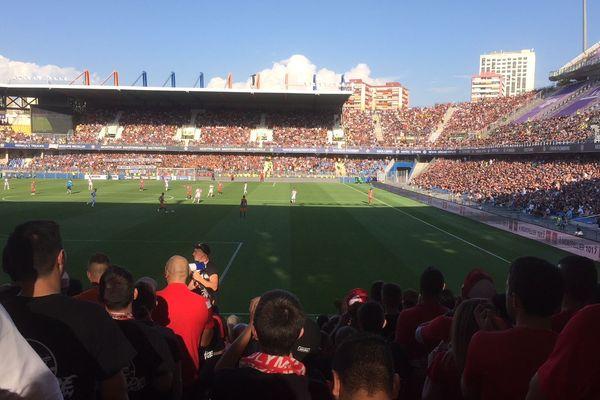 Le stade de la Mosson plein pour ce derby tant attendu entre le MHSC et Nîmes Olympique dimanche 30 septembre 2018
