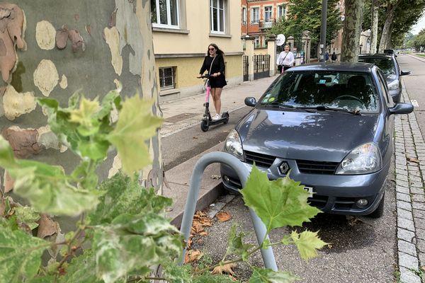 La municipalité de Strasbourg aspire à un meilleur équilibre entre les mobilités douces, les espaces verts et les voitures.