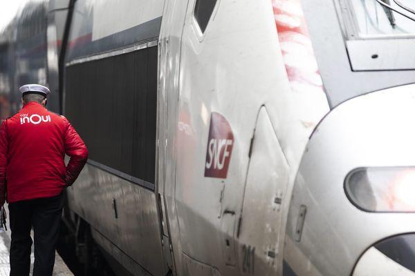 Image d'illustration, un TGV.