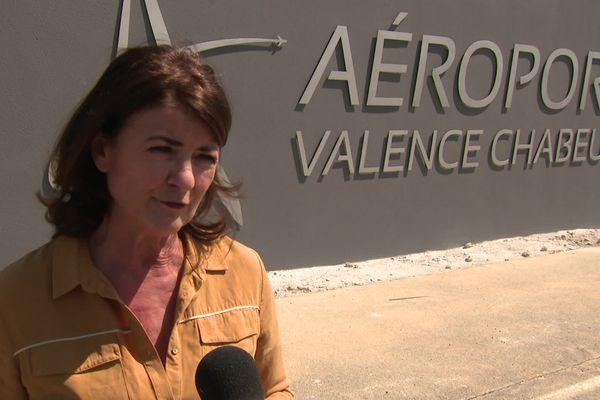 """""""Il n'est pas question qu'on fasse du low-cost"""" précise Catherine Autajon, présidente de l'aéroport"""