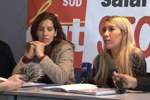 Les aides-soignantes ont donné une conférence de presse vendredi 16 décembre