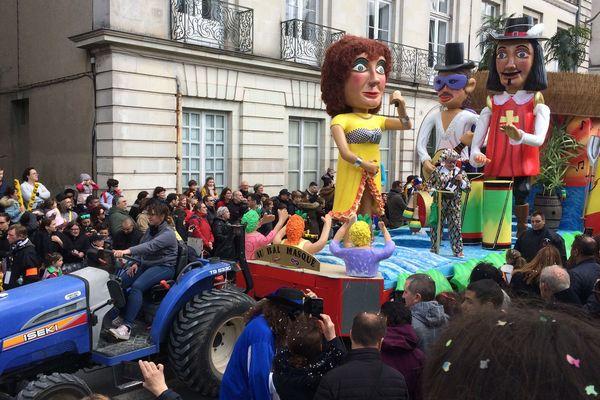 Carnaval de Nantes le 7 avril 2019
