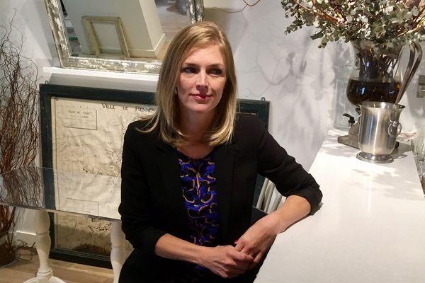 Carole Gandon, candidate pour les municipales à Rennes