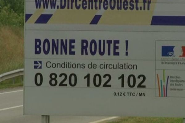 Projet de passer en 2X2 voies l'axe Bressuire/Poitiers/Limoges