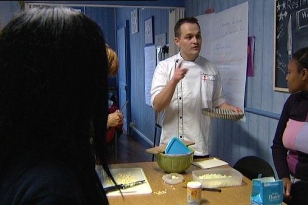 Un prof aux petits oignons pour les stagiaires de la Mission Locale de Vesoul.