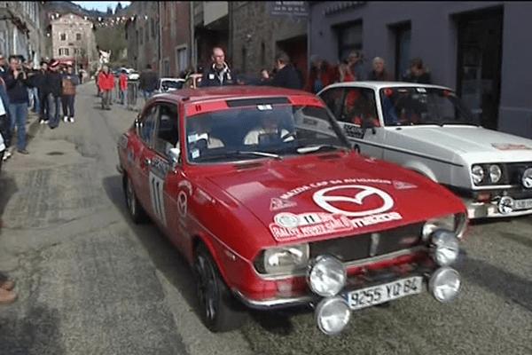 Rallye Monte Carlo Historique 2016 à Antraigues sur Volanne (Ardèche)