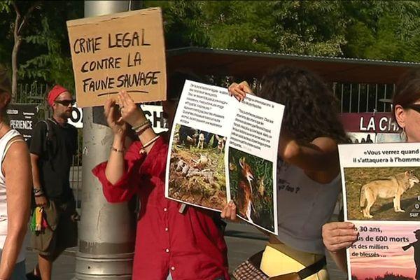 Manifestation anti-chasse à Nice le dimanche 29 septembre