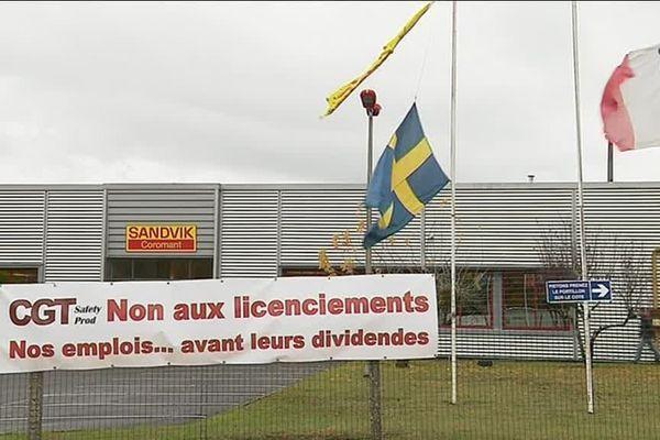 Le groupe suédois Sandvik avait annoncé mardi 23 octobre 2018 à ses salariés, la fermeture de l'usine de Fondettes.