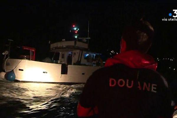 Douanes – Contrôles de pêche dans le Cap Corse