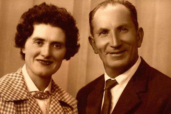 Angelina et Enrico Casassa, grands-parents piémontais de Zine.